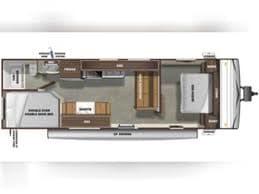 This shows the floorplan of this camper. Starcraft Autumn Ridge 2021