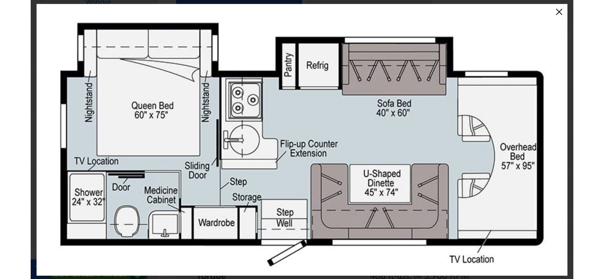 This floor plan is brand new for 2021 and feels huge inside.. Winnebago Minnie Winnie 26T (the new floor plan!) 2021