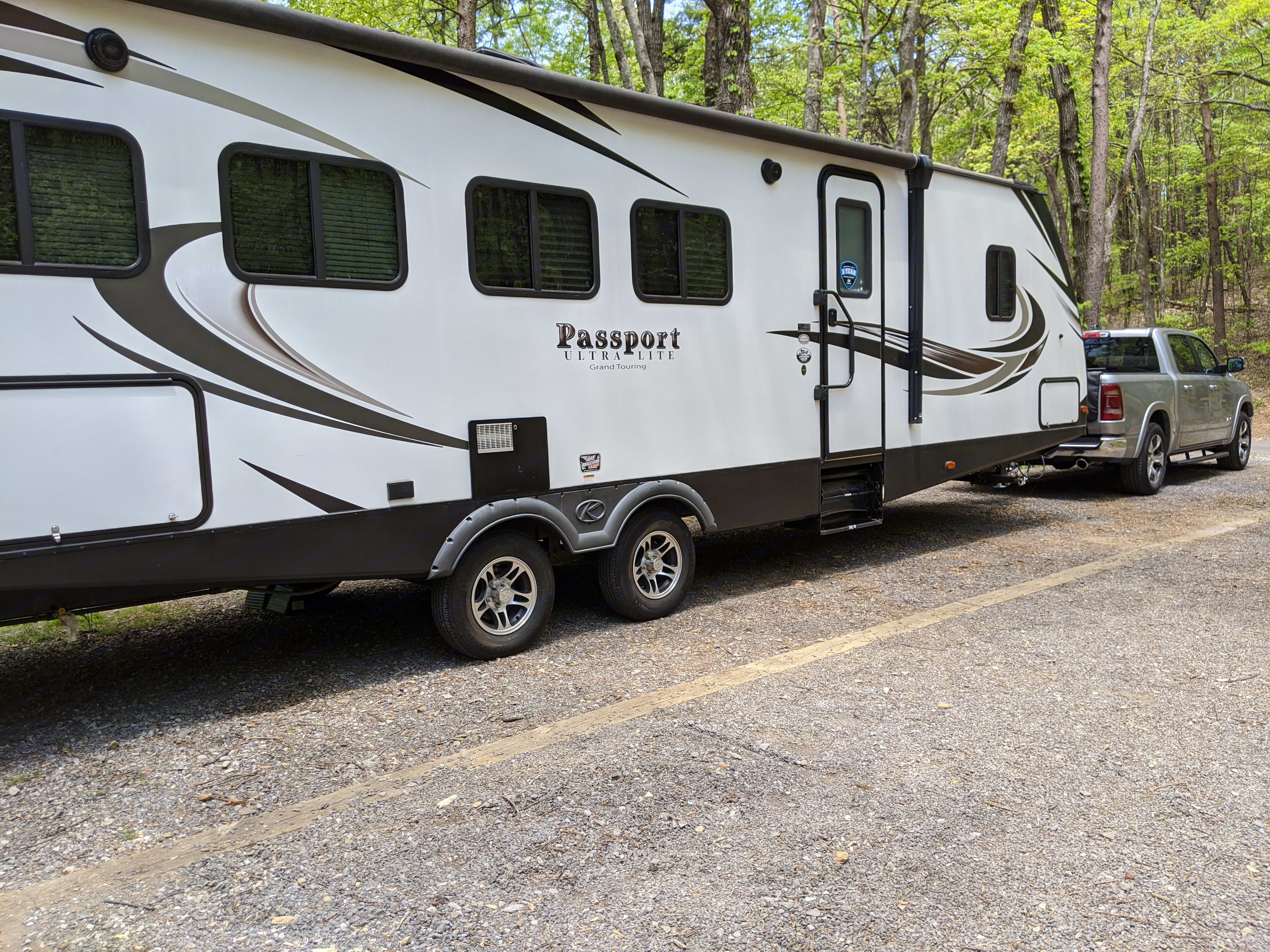 Extra Large and Easy to tow!. Keystone Passport 2018