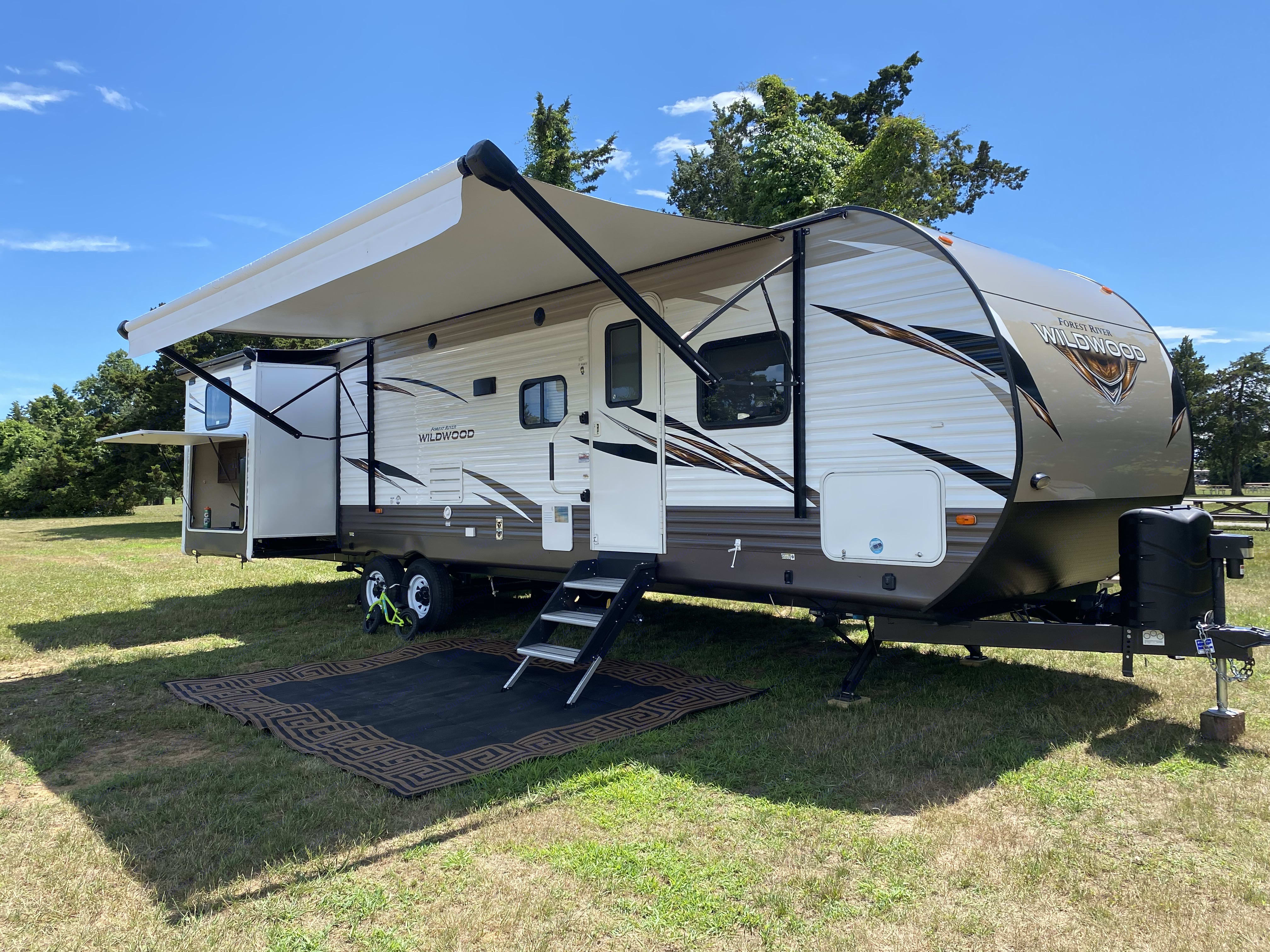 Forest River Wildwood 31 KQBTS 2018
