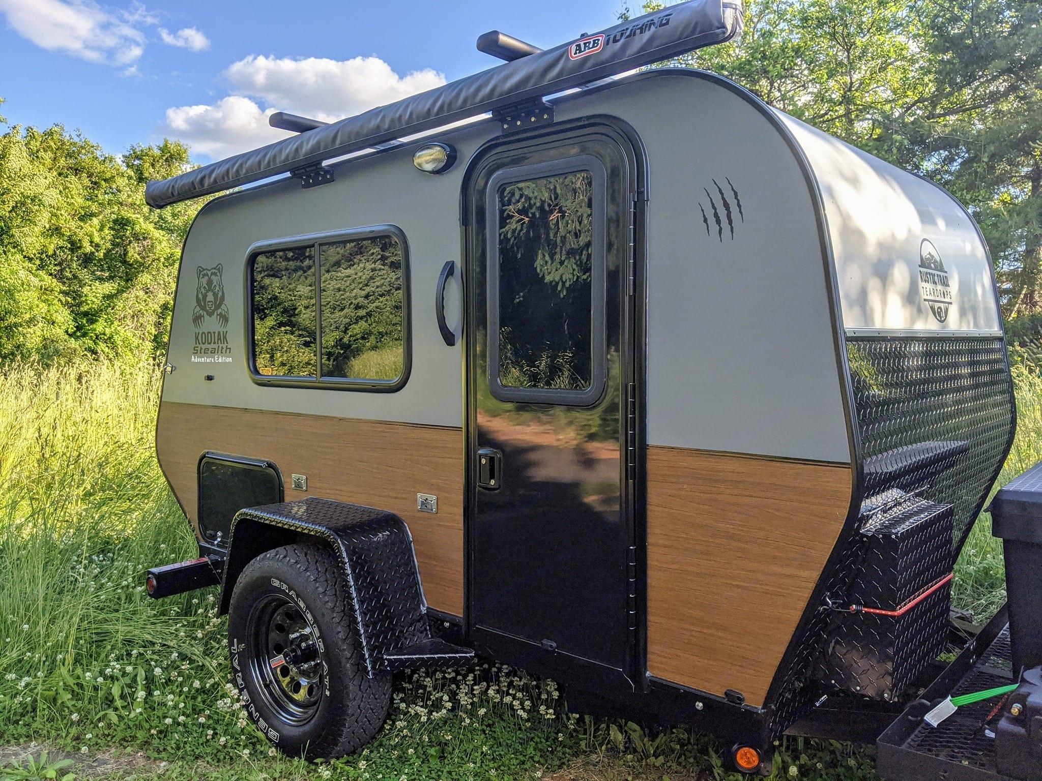 Rustic Trail Teardrop Camper Kodiak Stealth 2020