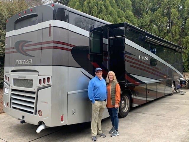 We'd love to show you our RV. Winnebago Forza 2020