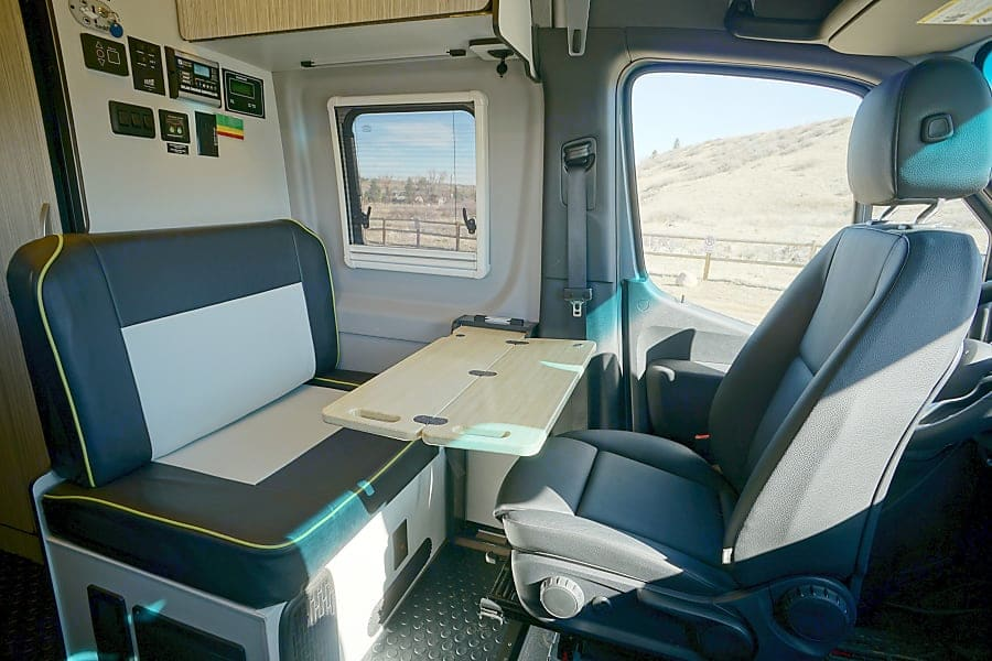 Enjoy the view from the kitchen table!. Winnebago Revel 2020