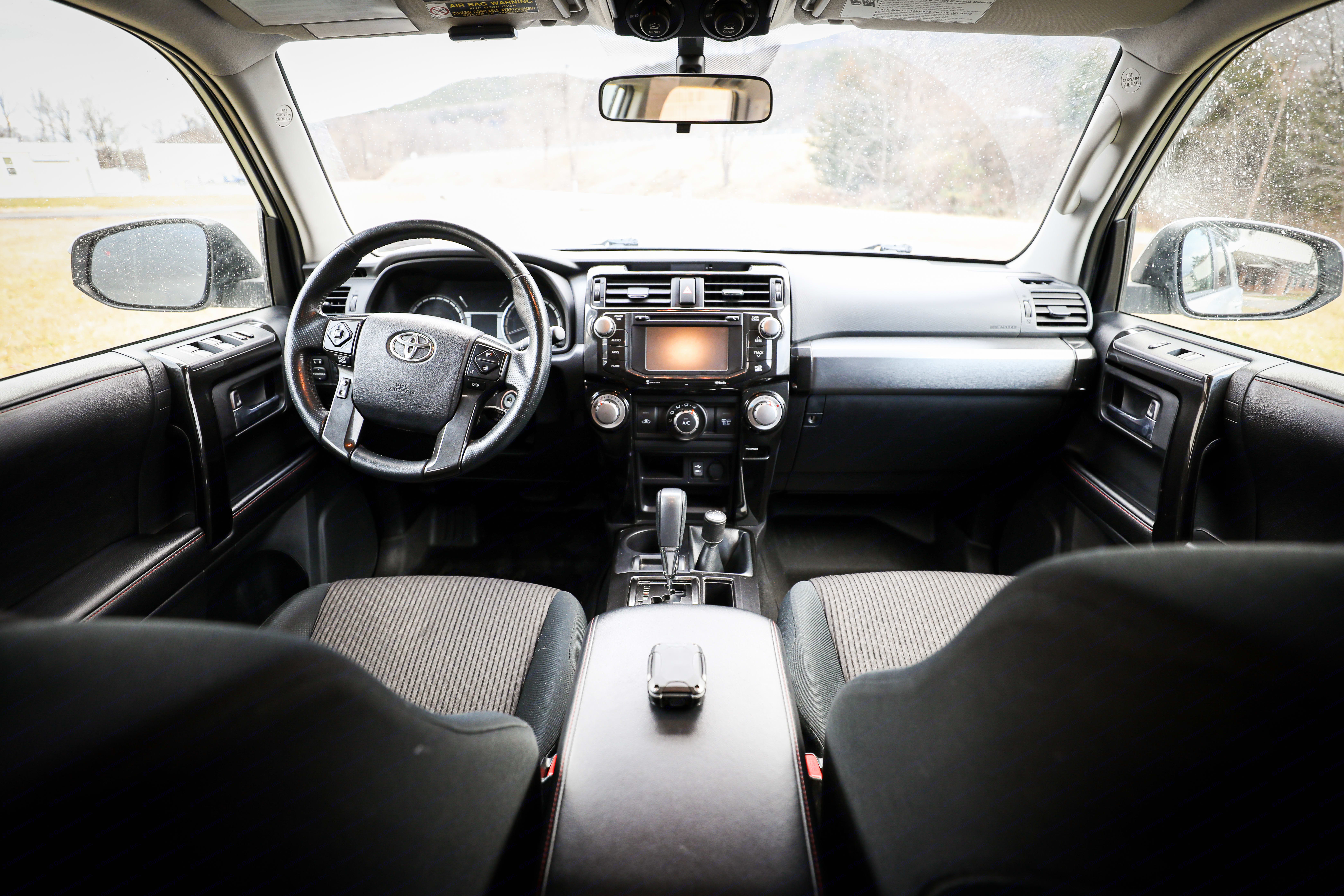 Seneca's interior features all the modern luxuries including a Bluetooth stereo, GPS and a host of apps to complete your adventures on the road.. Toyota 4Runner 2015