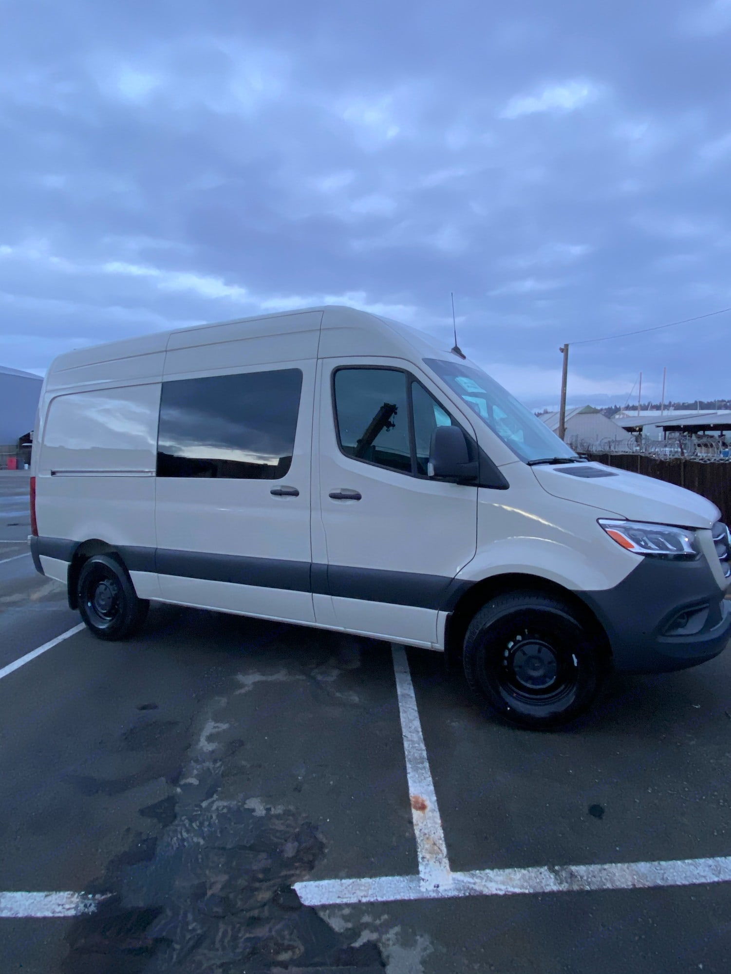 Van will be converted like our gray van. Mercedes-Benz Sprinter 2020