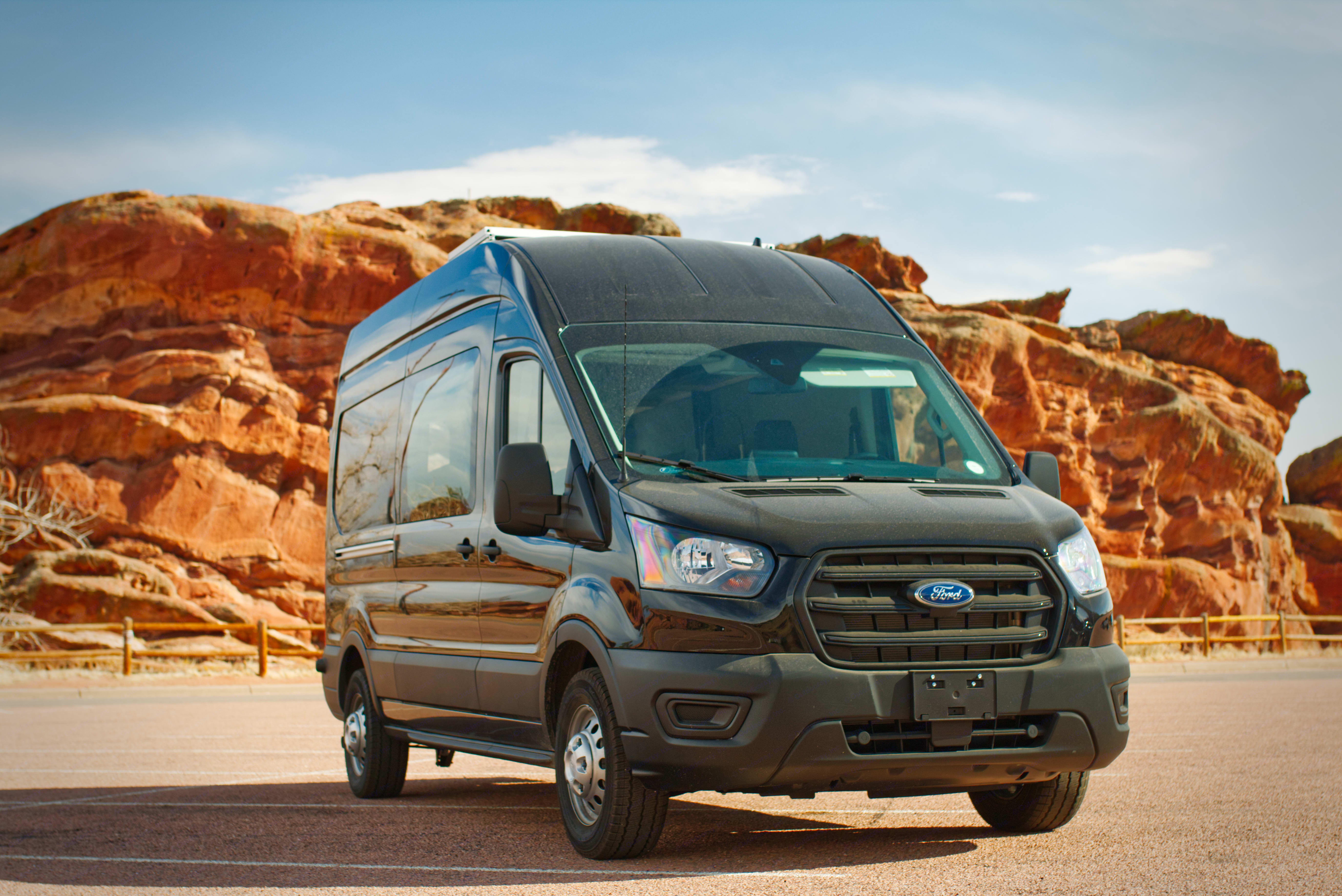Sporting all wheel drive, this nimble ninja will take you anywhere!. Ford Transit 2020
