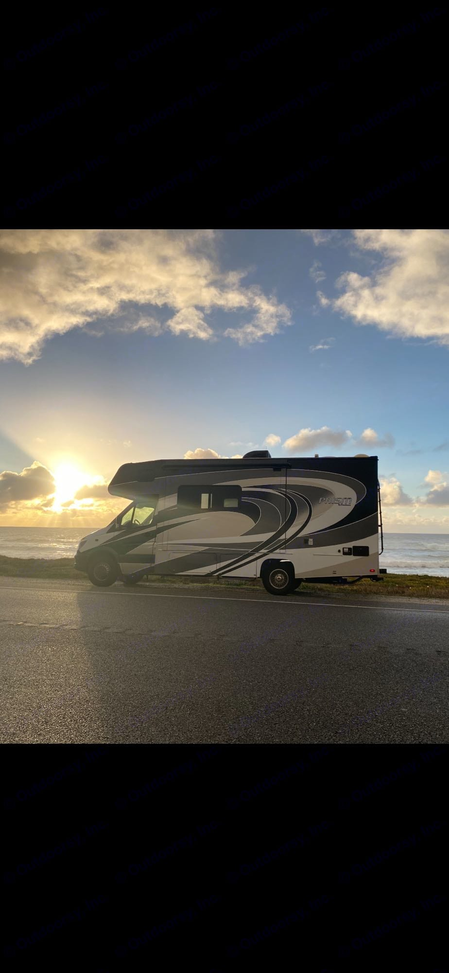 Beautiful highway 1. Coachmen Prism 2019