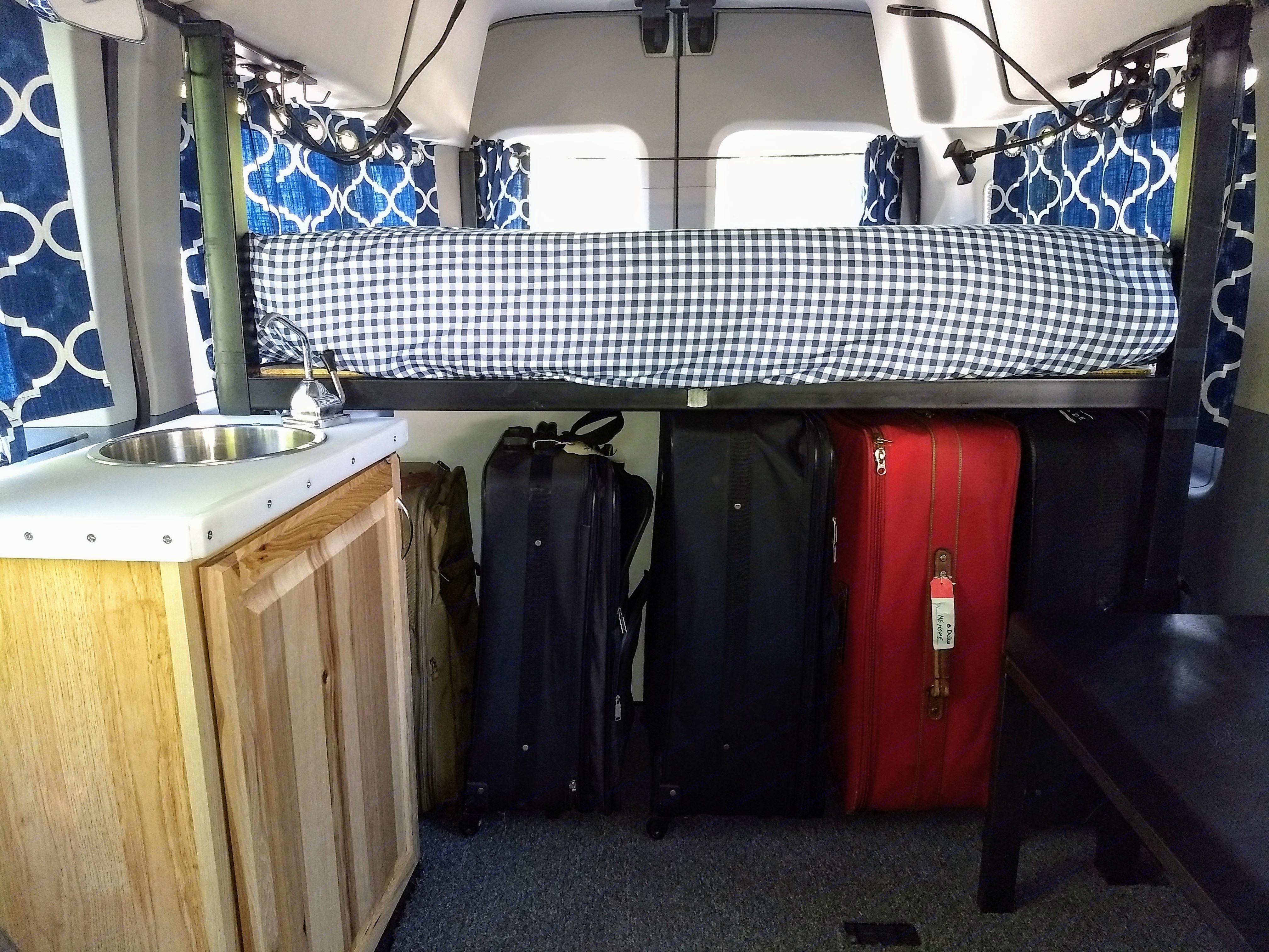 Under Bed Storage. Ford Transit 2019