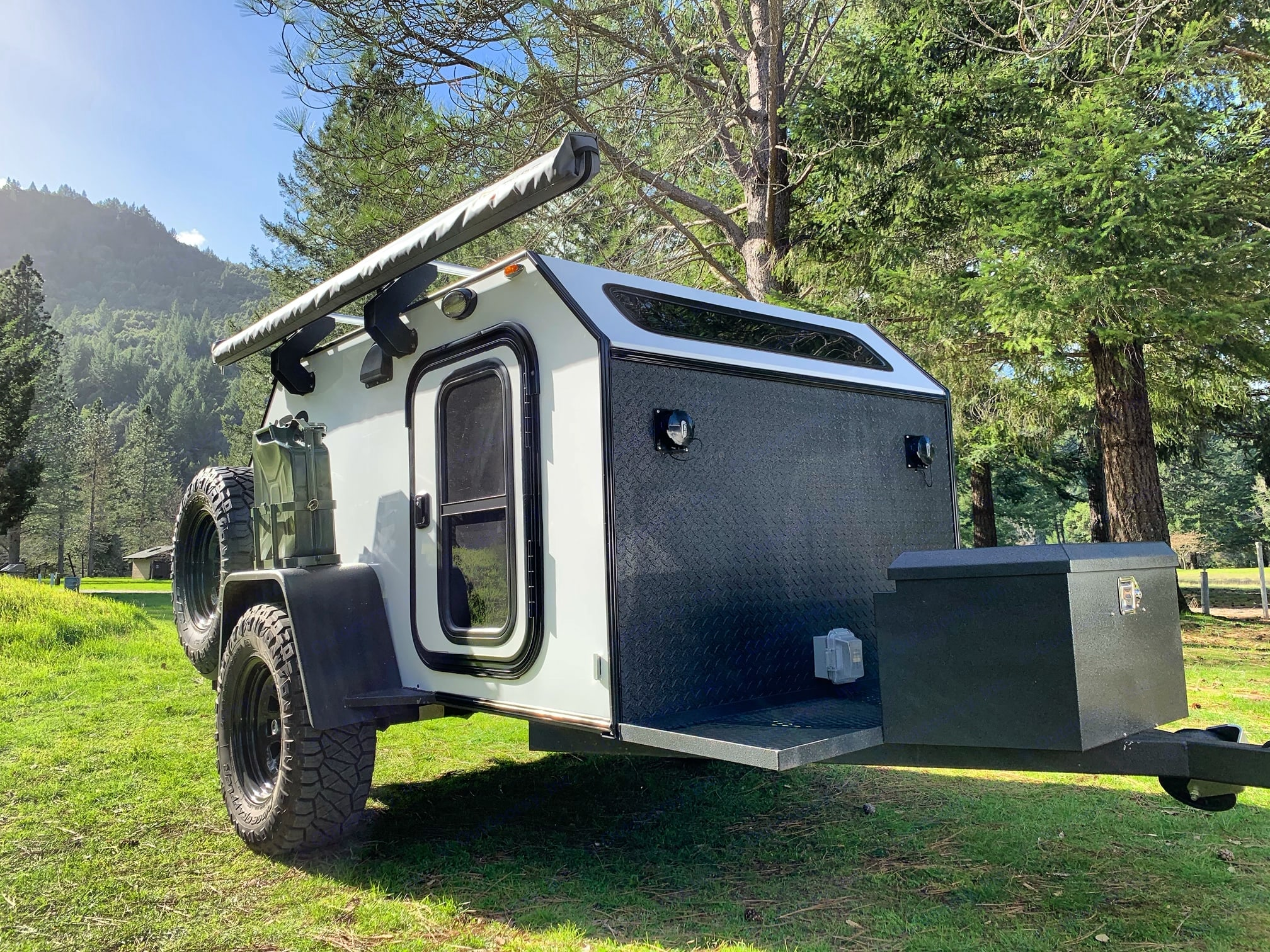 This is one of my favorite pictures of my do-it-all rig. Get out and explore. Camp where ever the trails take you.. Vintage Trailer Works XTR 2020