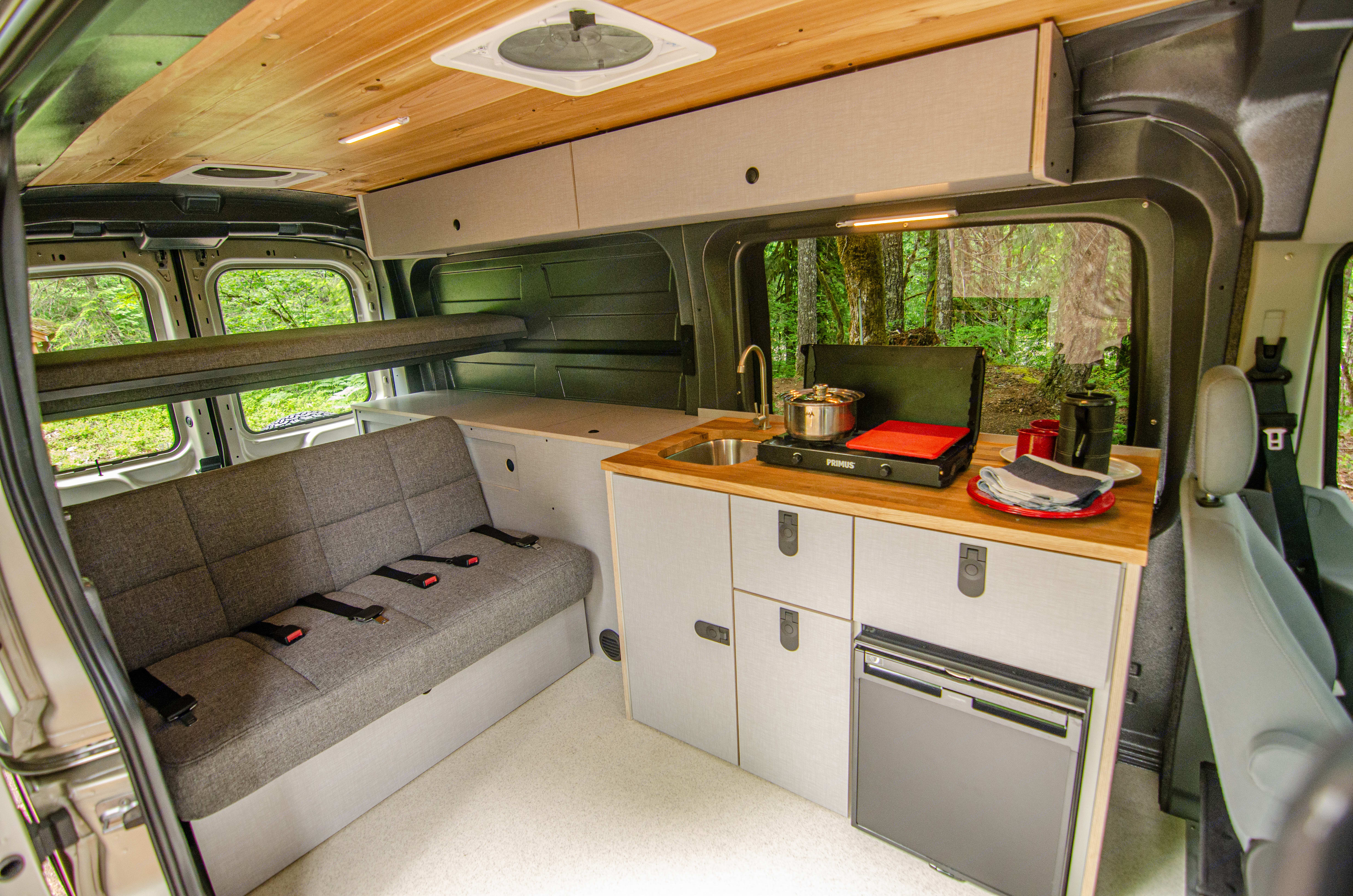 Beautiful roomy interior!. Ford Transit 2017