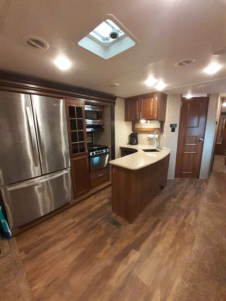 Large kitchen with lots of counter space and coffee pot!. Prime Time Lacrosse 2018