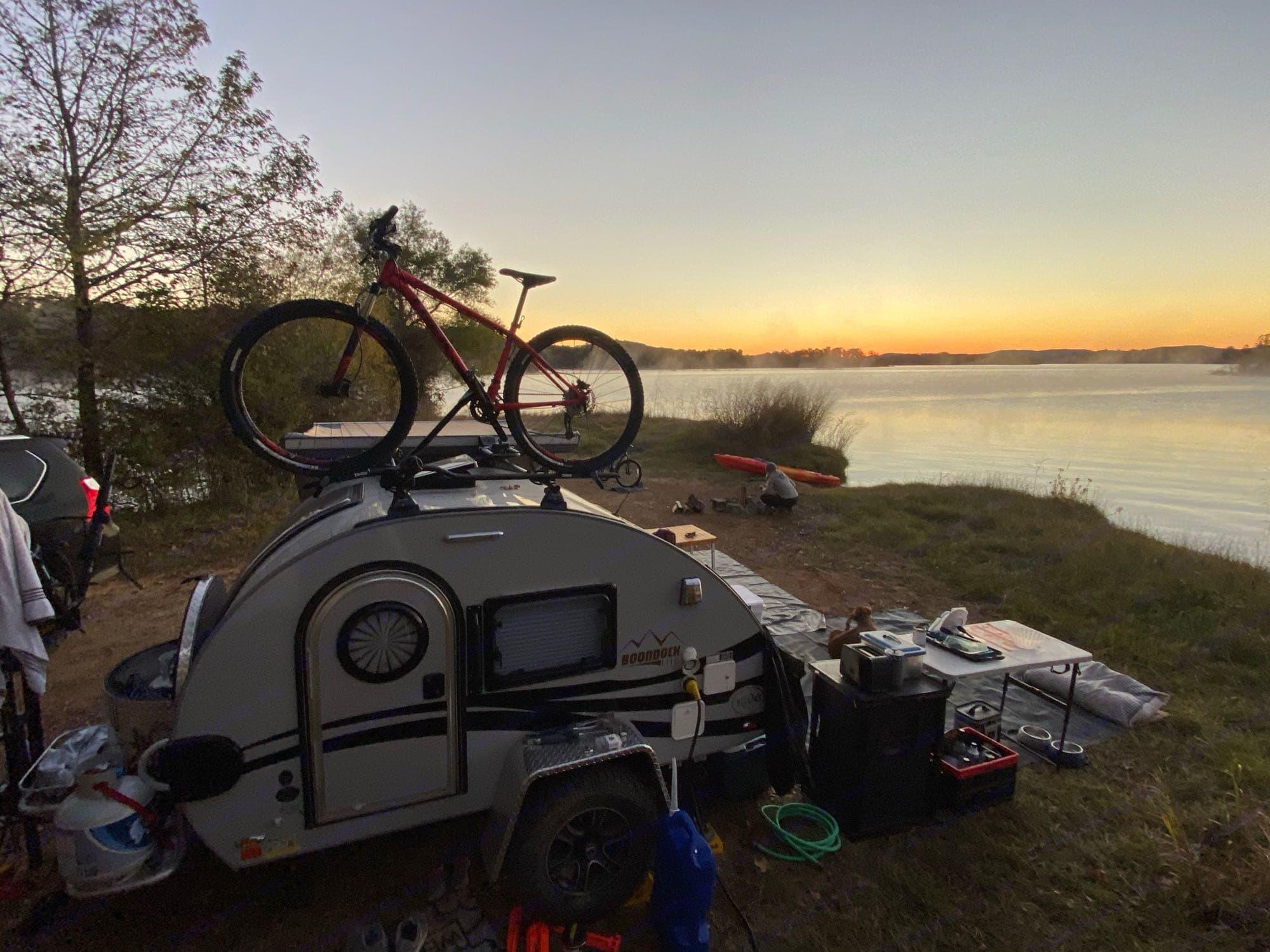 sunrise. Nucamp T@G Boondock 2020