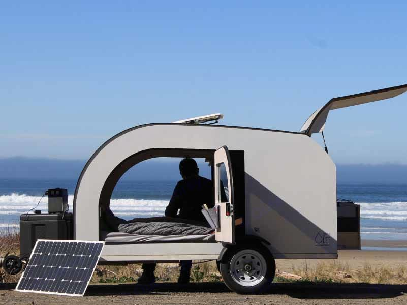 Perfect for travelling and photoshoots. DROPLET Trailer 58 2021