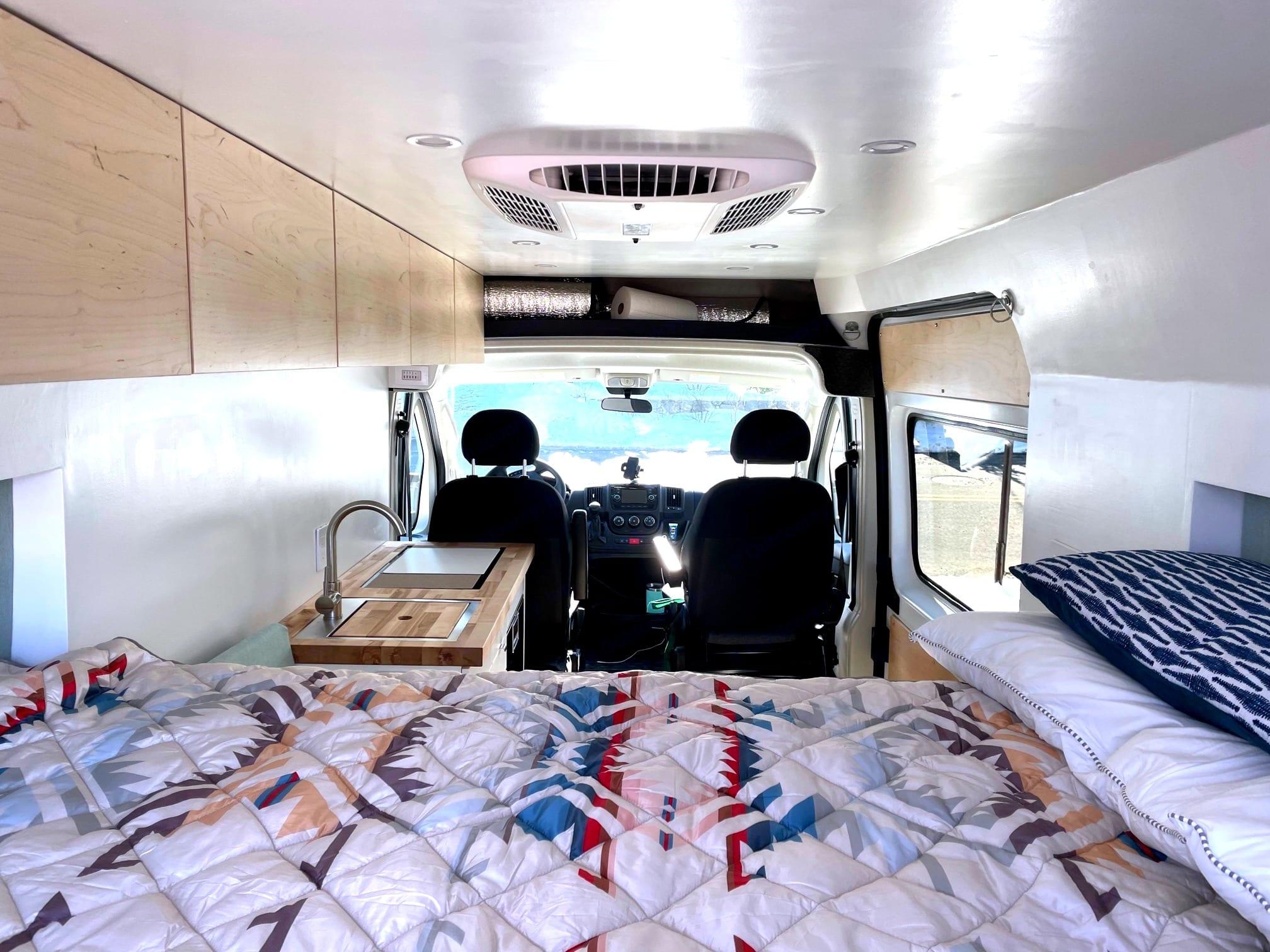 Spacious interior. Dodge Ram 2500 2020