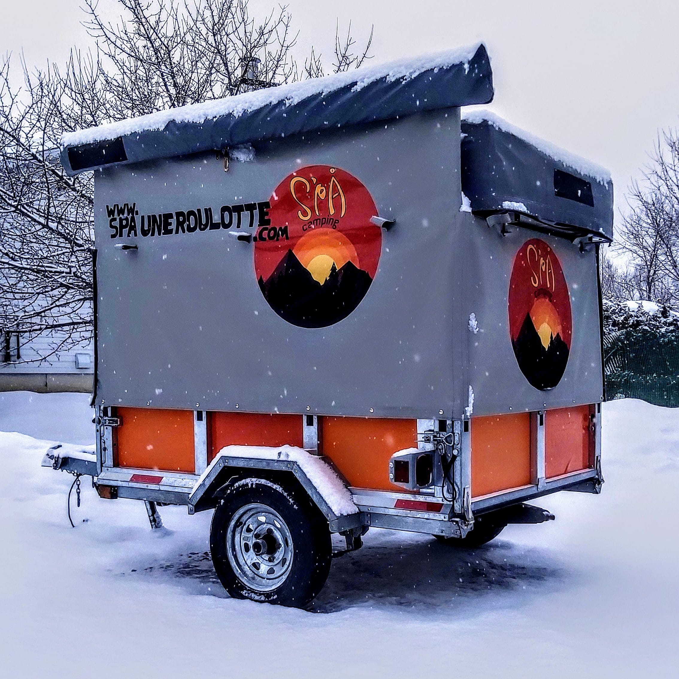 S'PA camping S'PA mini galvanisée 2021