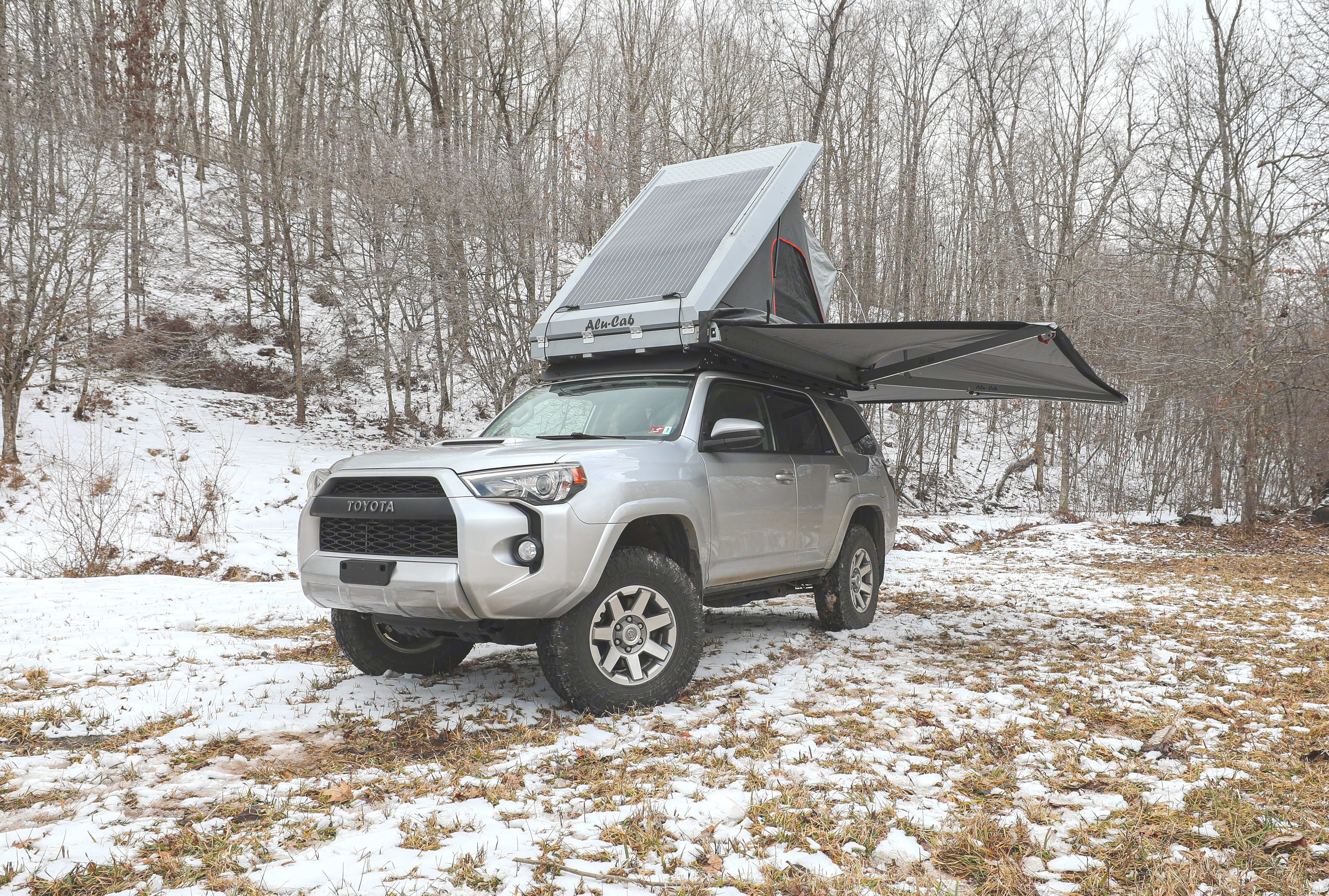 The tent and awning are easily deployed in under 2 min. making camp set up a breeze!. Toyota 4Runner 2015