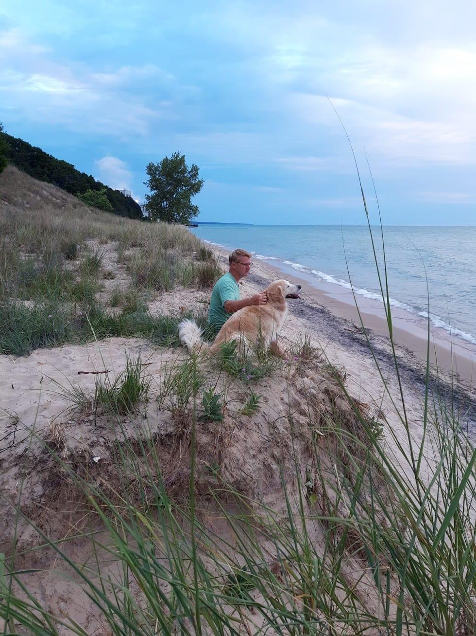 VanBuren State Park on Lake Michigan shore.. Coachmen Freedom Express 2018