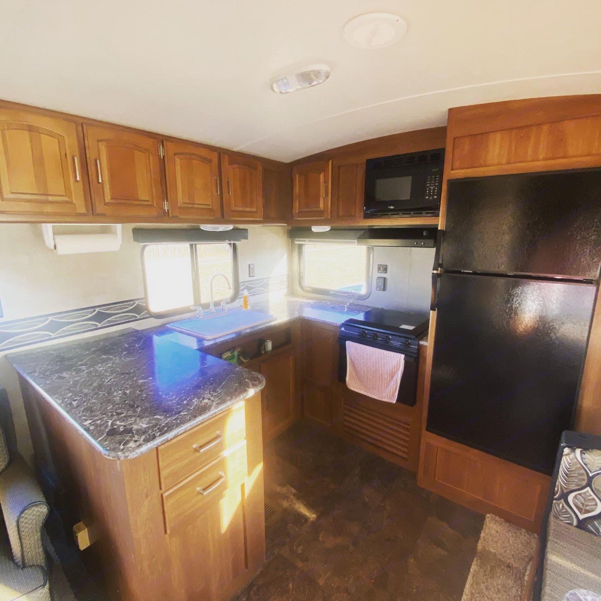 kitchen!. Keystone Springdale 2014