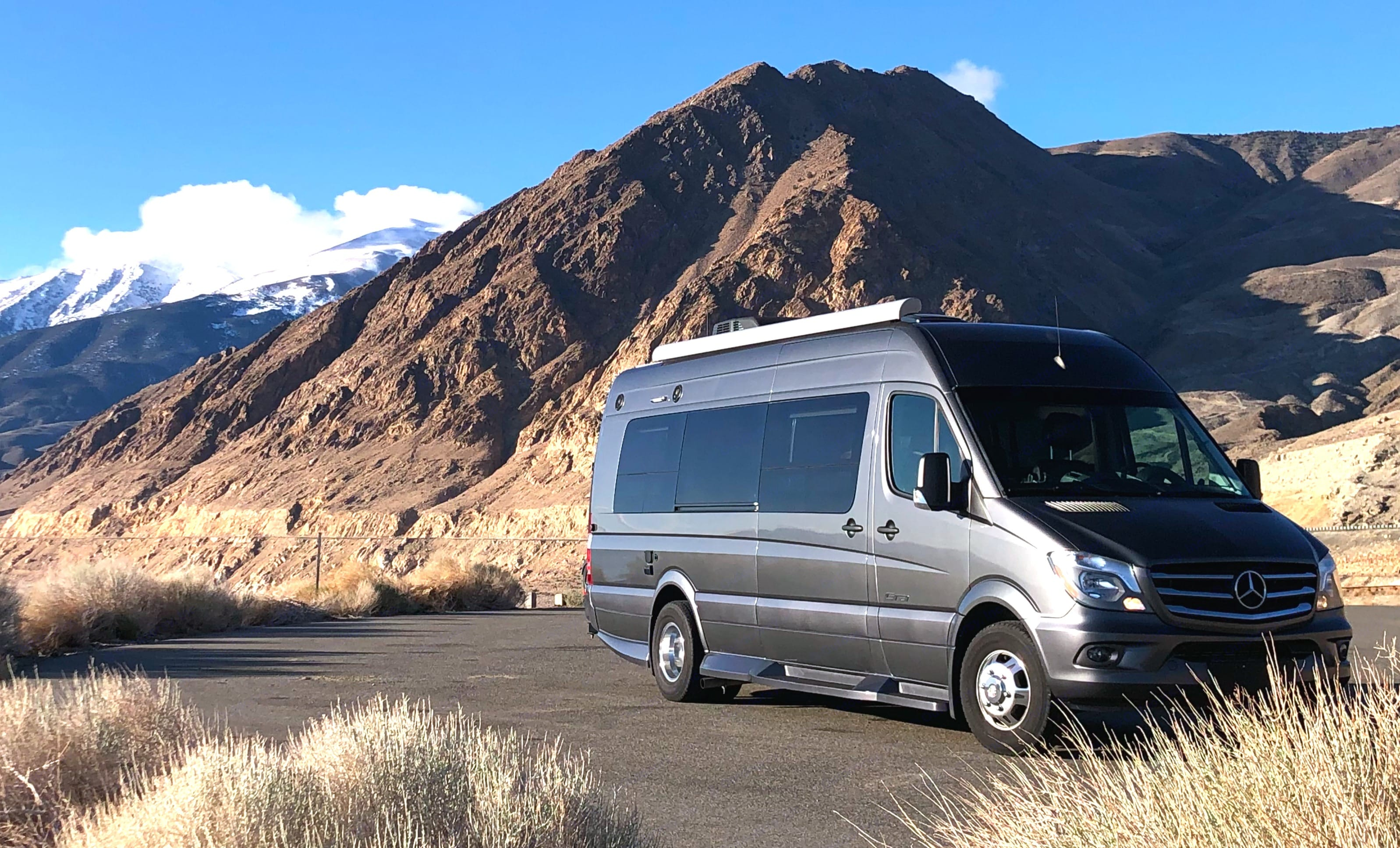 You can park and camp in this thing for a couple of days wherever it's legal. . Winnebago Era 170X 2018