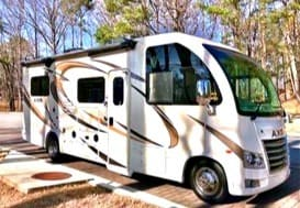 At 25ft this RV brings luxury Class A styling in a small package that can go anywhere including state and national parks.. Thor Motor Coach Axis 2018
