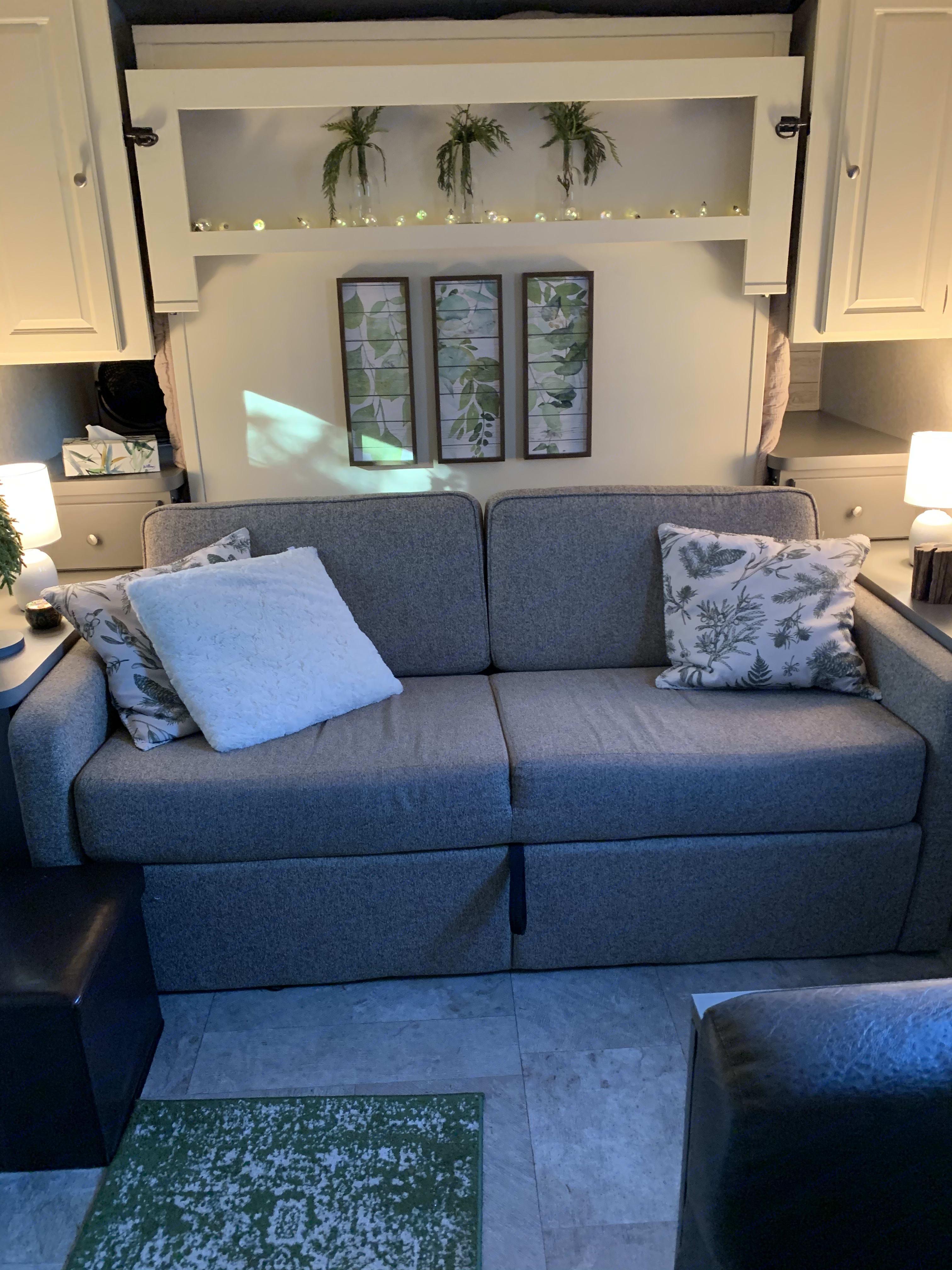 Comfy Sofa. Forest River Flagstaff Micro Lite 2018