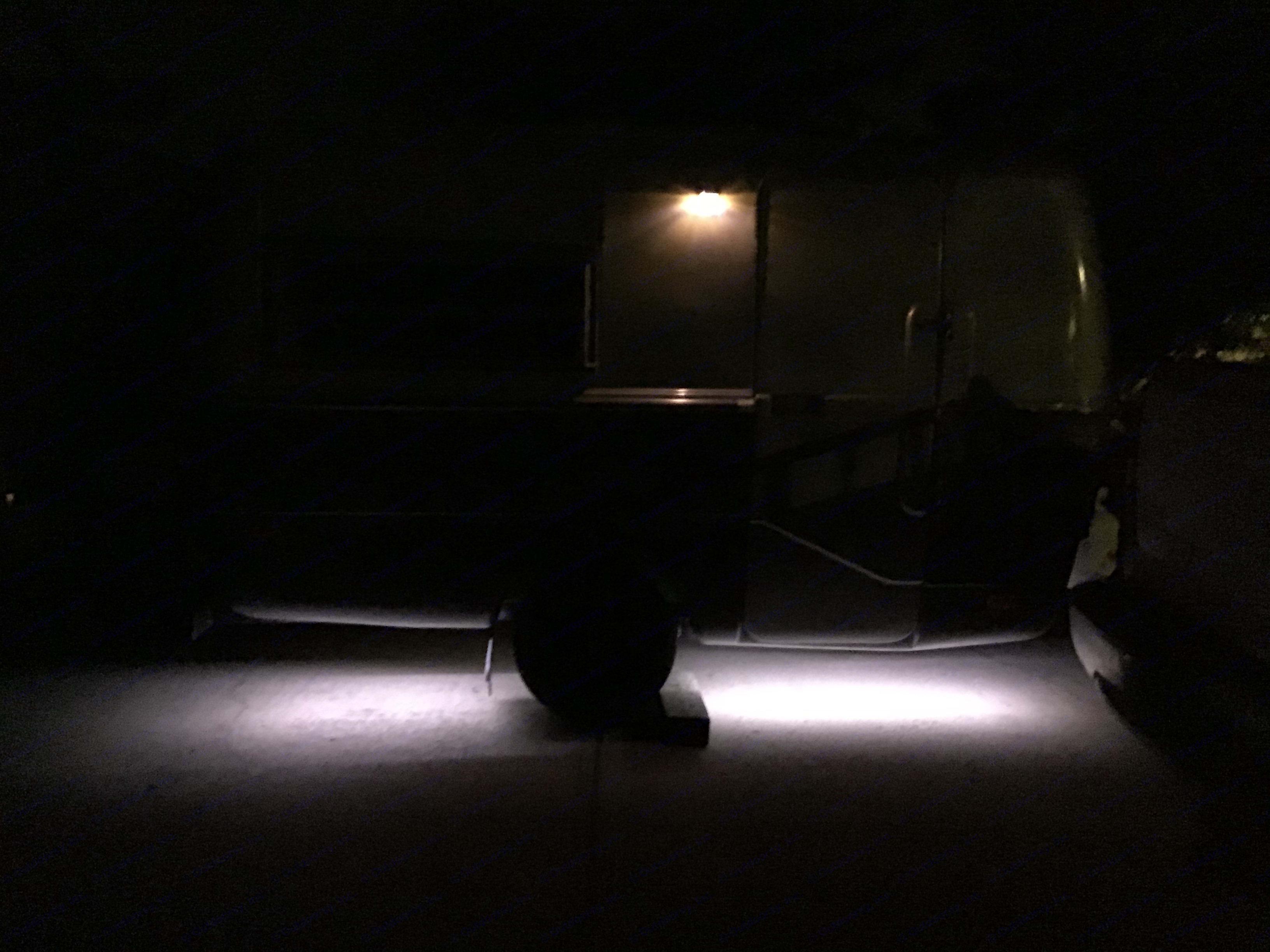 Yup I got underbelly lighting. Boom!. Triple E Surfside 1977