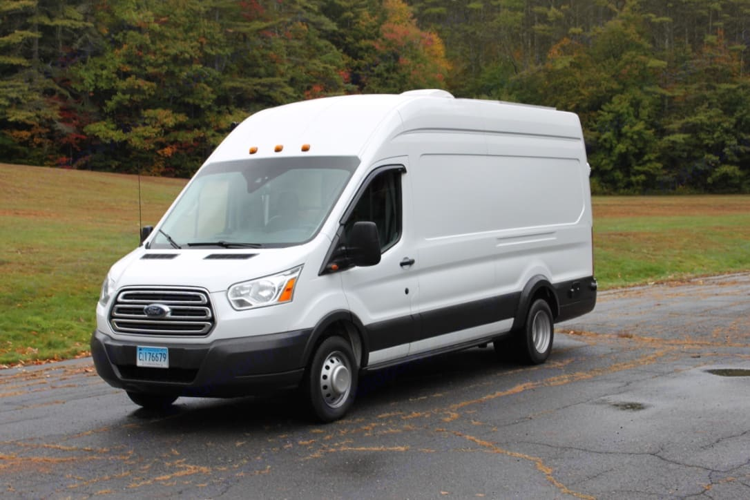 Fun, efficient, and easy to drive! Backup camera and park sensors make maneuvering a breeze!. Ford Transit Motorhome 2015