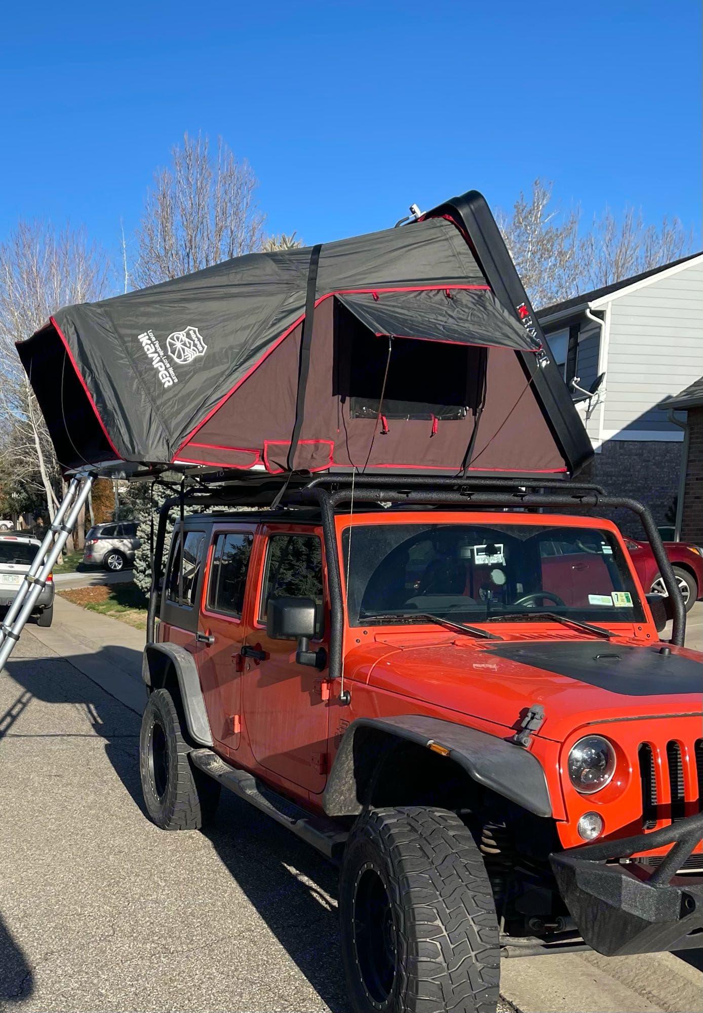 iKamper Skycamp 2.0 on Crush. Jeep Wrangler JKU Sport 4x4 2015