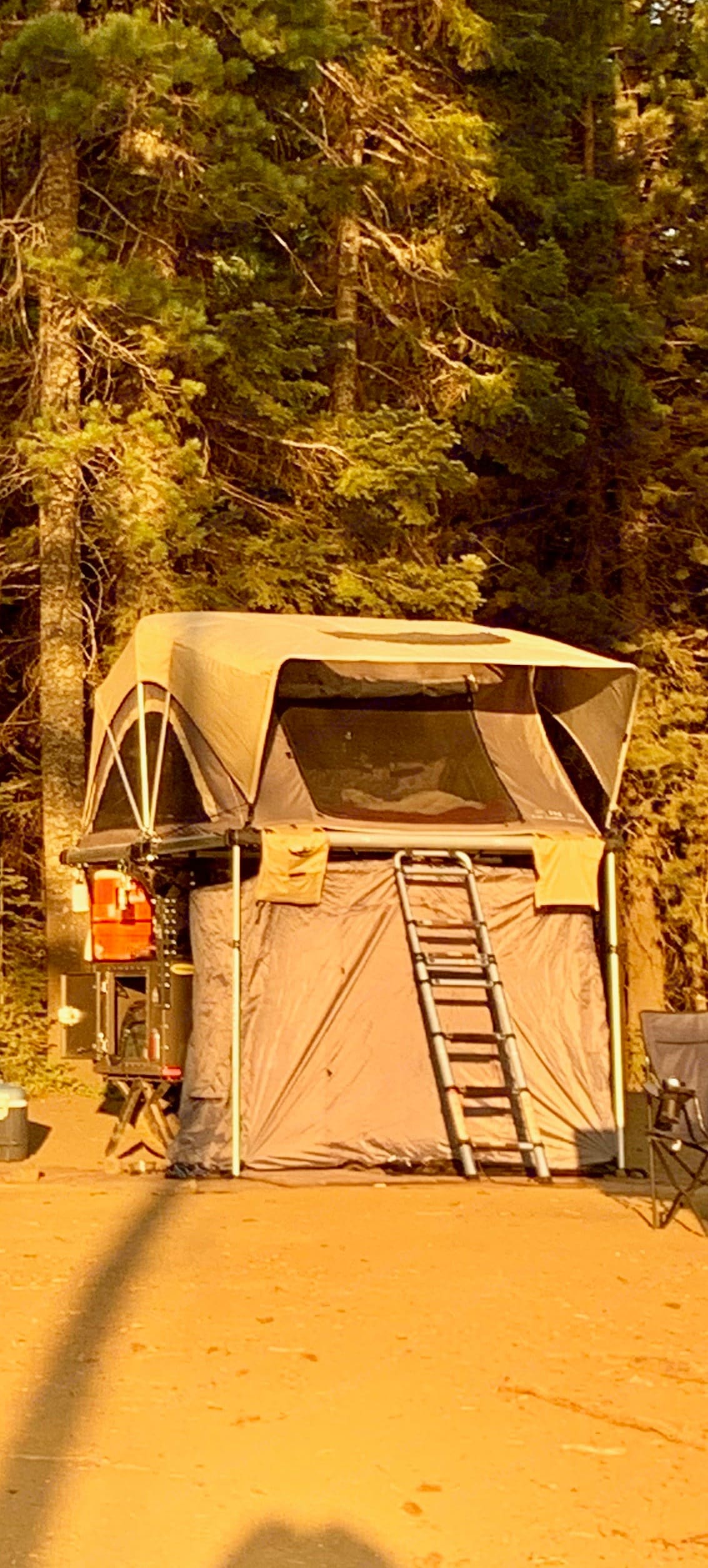 Feel like you are in the trees sleeping up off the ground.. Free Spirit High Country 80 in 2019