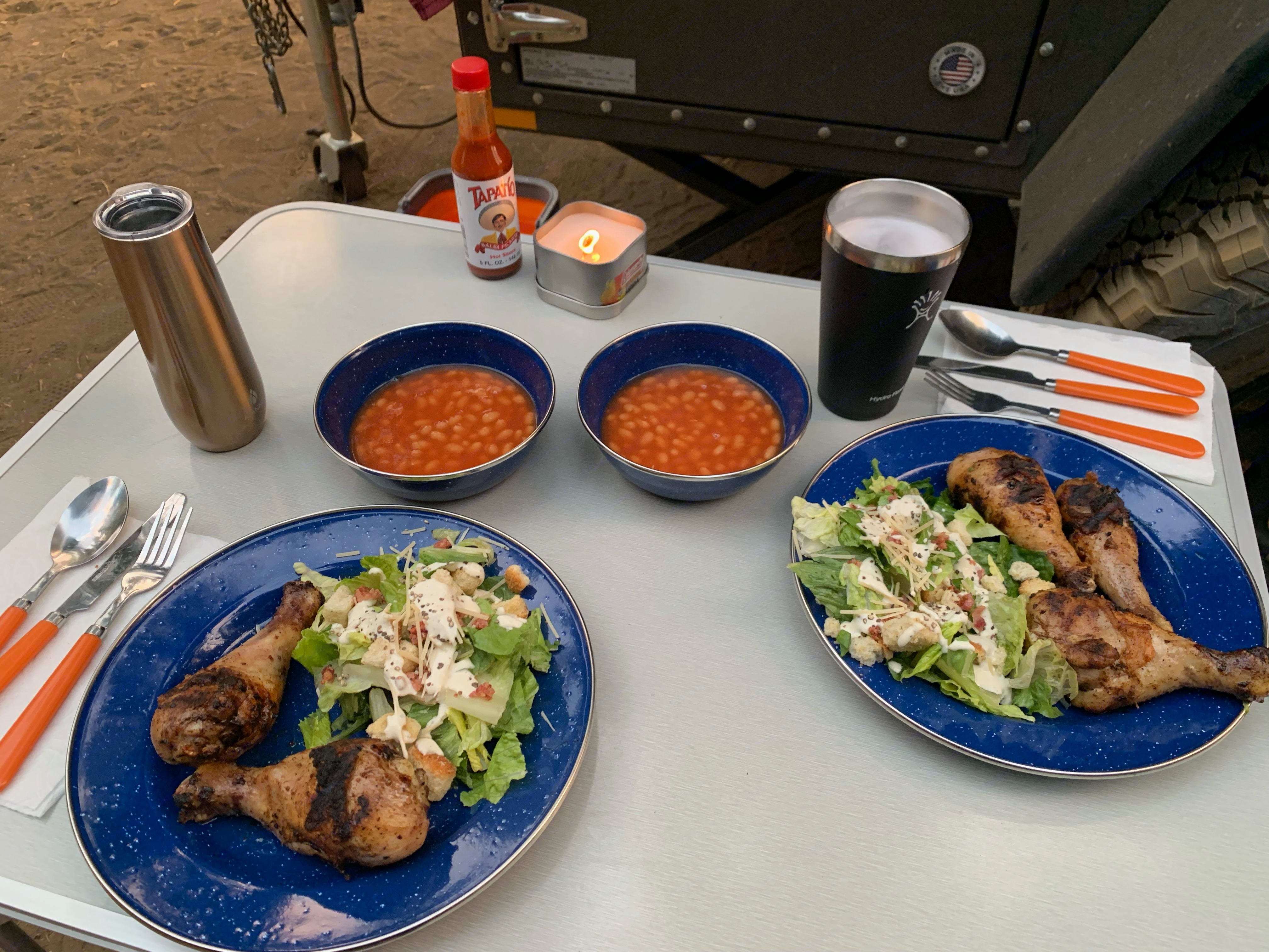 Dishes, cooking equipment and stove included.  Just bring food and drinks!. Free Spirit High Country 80 in 2019