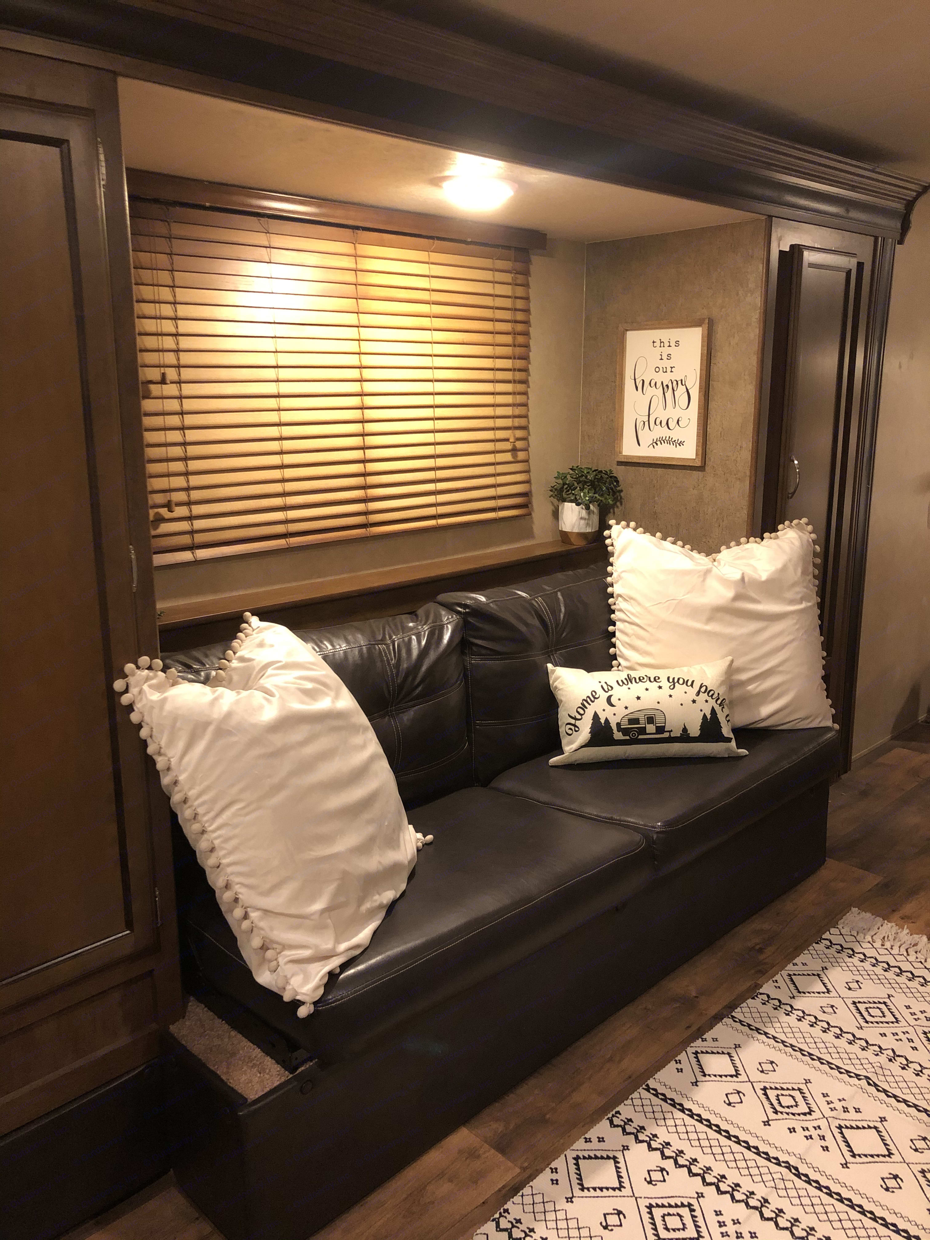 Large couch that converts to a bed for extra guests. Forest River Salem Cruise Lite 2017
