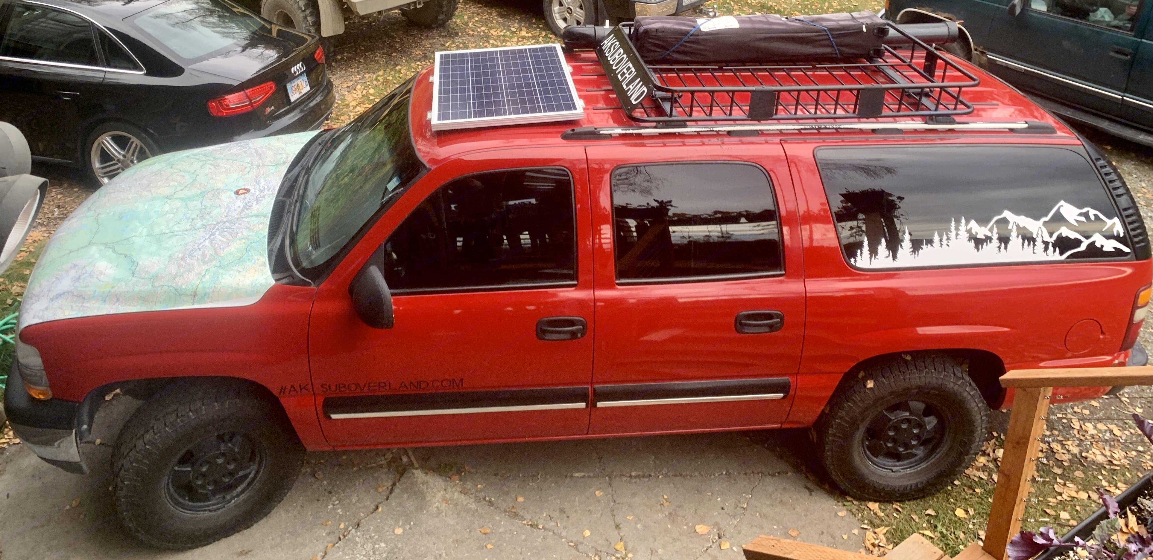 Chevrolet Suburban Overland 2000