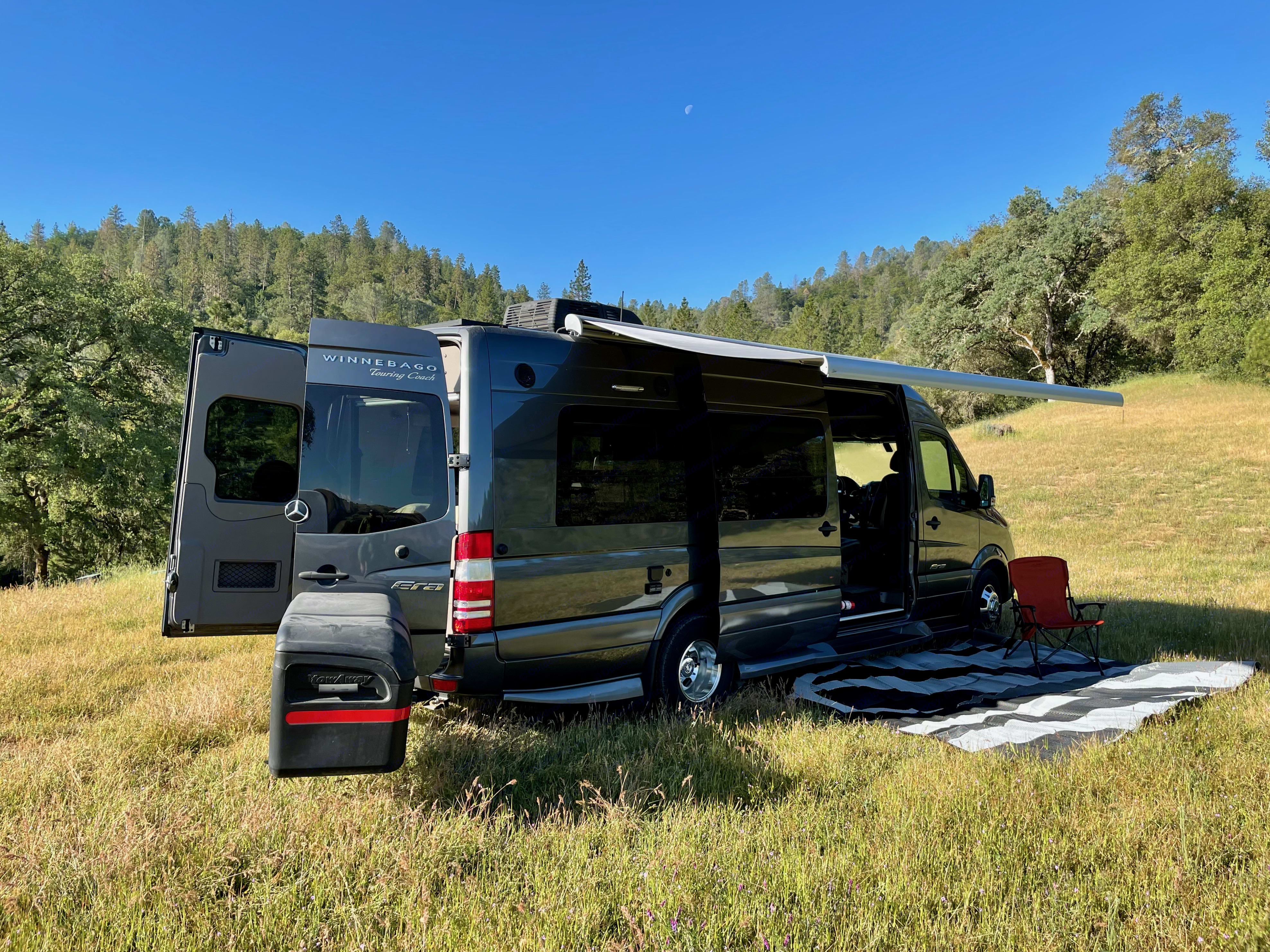 Easy, breezy, bug-freezie.  We had all the screens closed, all the windows open, and slept for ten hours. . Winnebago Era 170X 2018