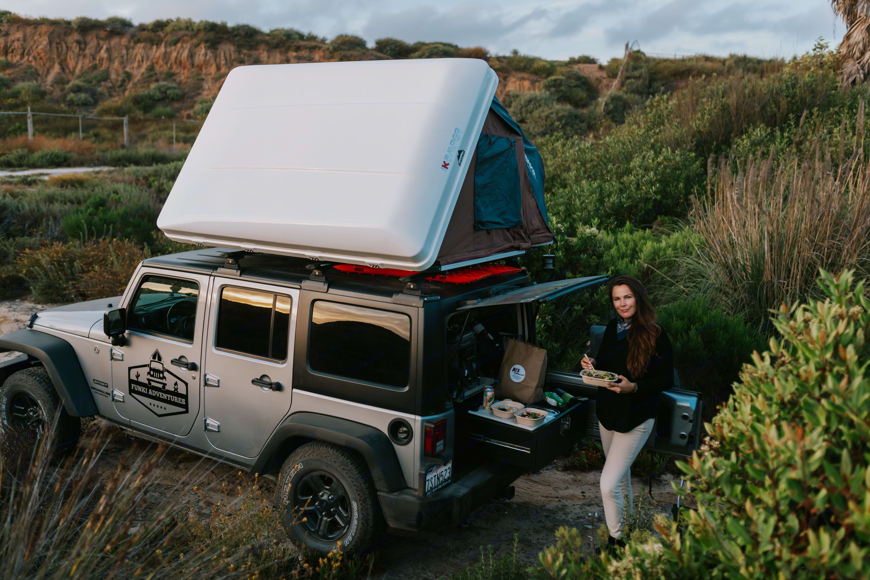 Everything you need is included in the rental ... cook gourmet meals with our setup!. Jeep Wrangler Unlimited 2016