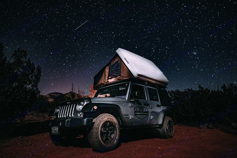 Enjoy a billion star sky at night - go places where light pollution doesn't exist (we can tell you where!). Jeep Wrangler Unlimited 2016