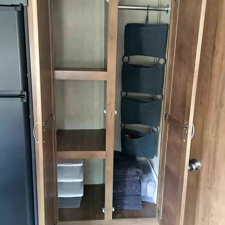 Closet and pantry.