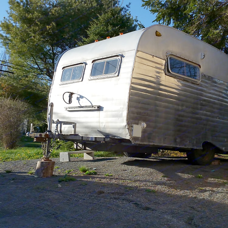 Grace is a true survivor - she has had 57 years to work on her patina, and has earned each of her exterior dents and dings.   Her interior has been lovingly rebuilt in a custom design to allow more space than she originally had.