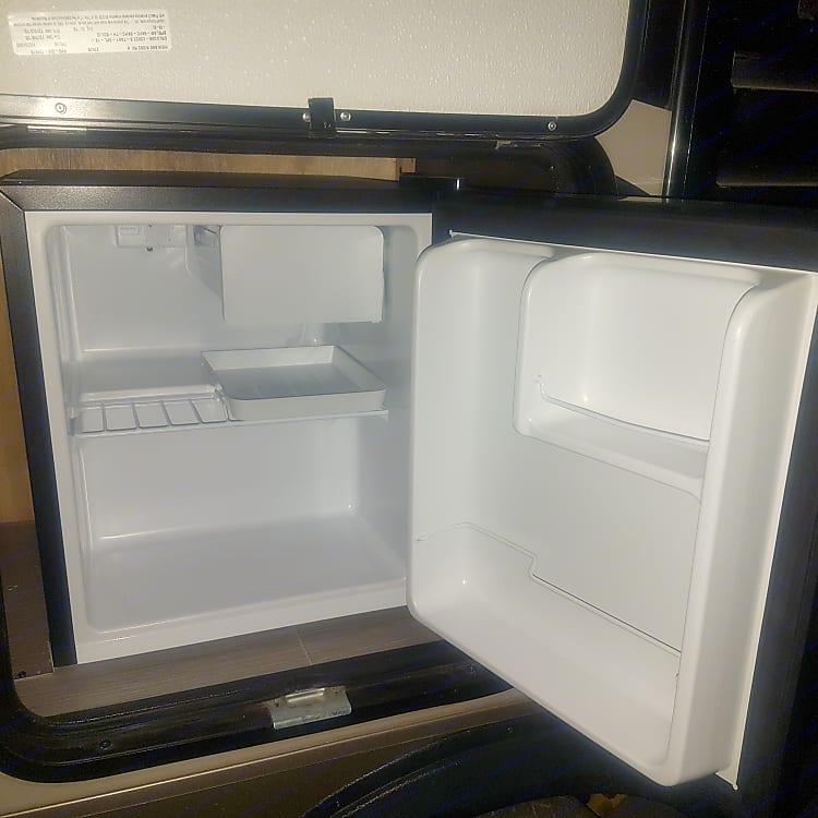 Outside fridge
