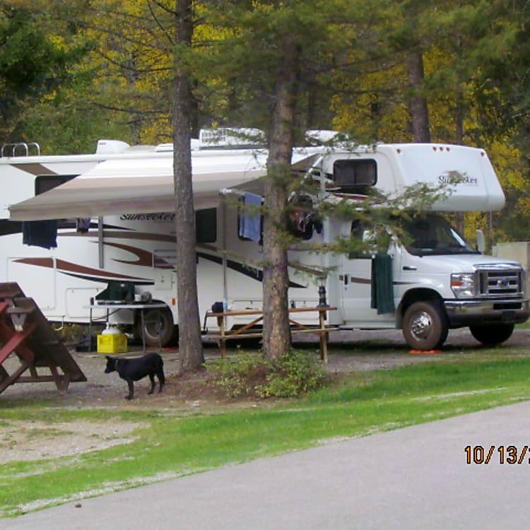 Camping in East Kootenays.