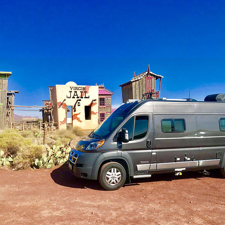 A night in Jail or a night in the Wanderlust RV. You decide.