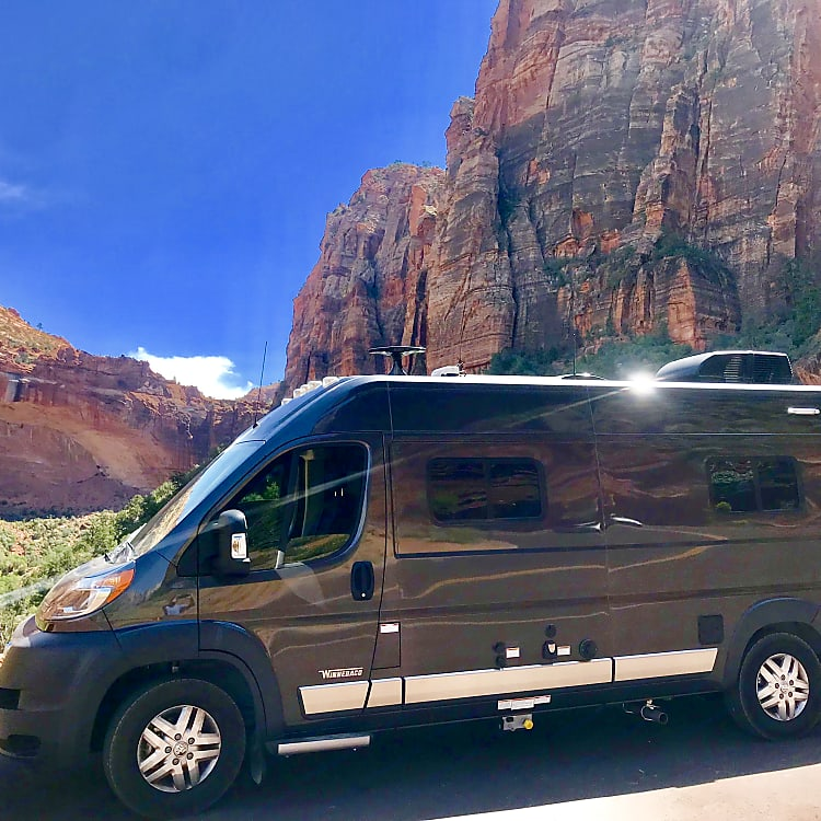 The beauty of Zion National Park.
