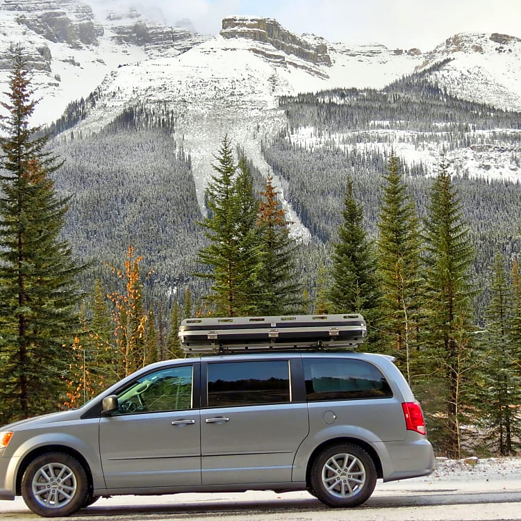 Weather in the Rockies can be unpredictable. No need to spend hours setting up your ground tent.