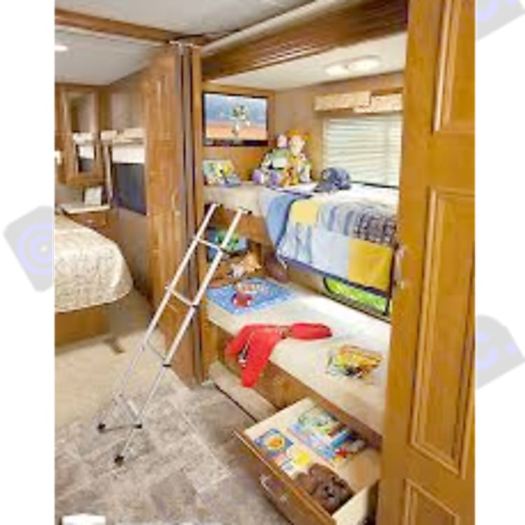 Bunkbeds with TVs
