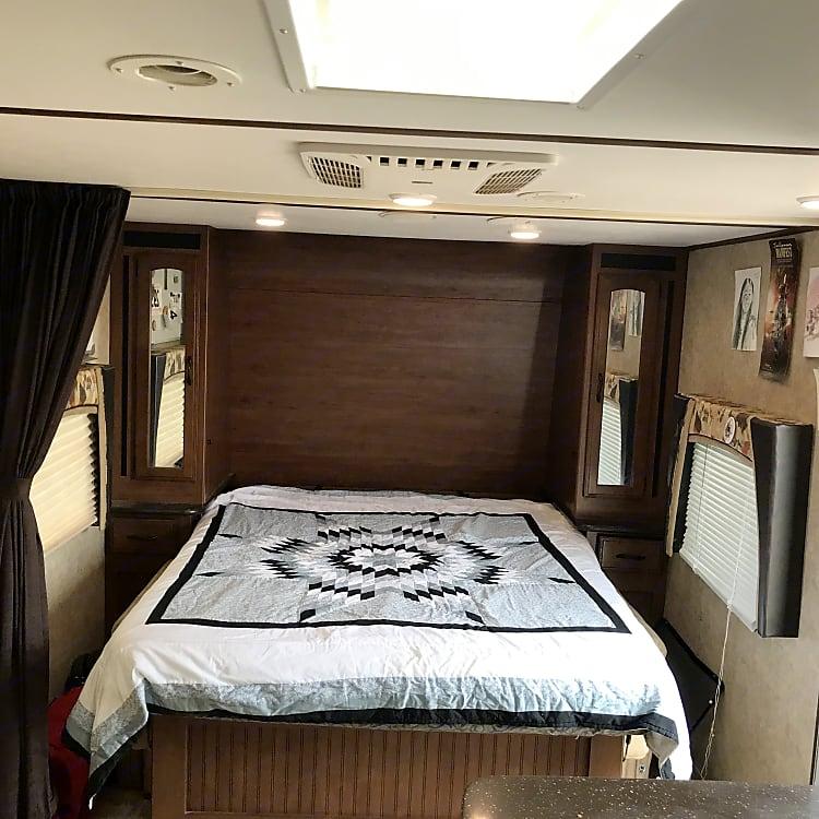 Murphy Queen bed in down position