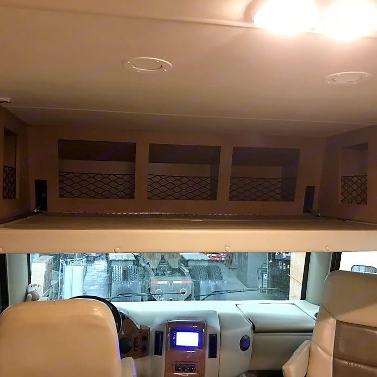 upper bunk lowered!