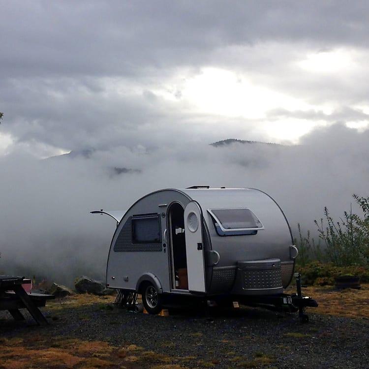 Camping near Whistler, BC