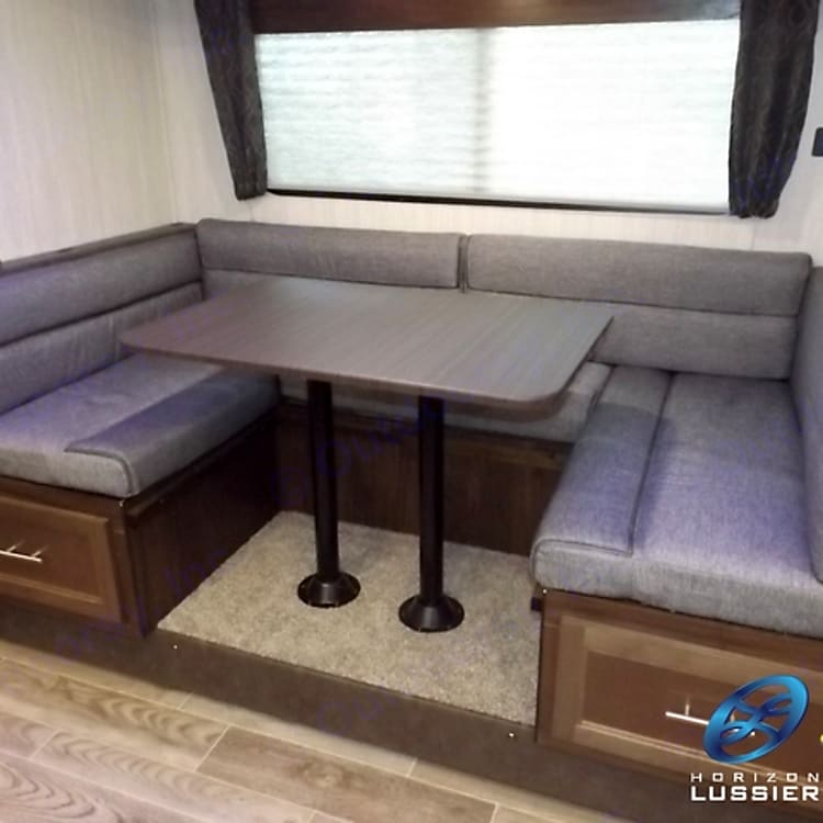 Slide Out - Dinette - which can convert into a double bed
