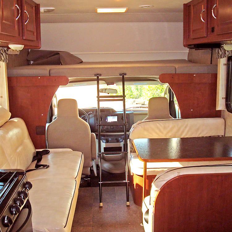 Plenty of comfortable traveling room!
