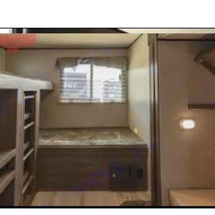 Kids bedroom/bunkhouse!