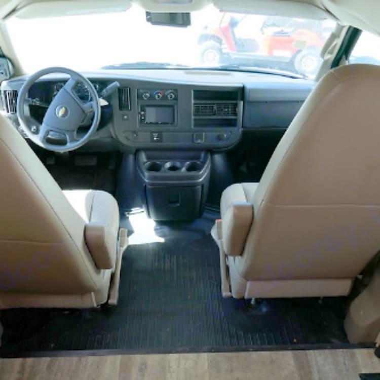 Chevy cab.